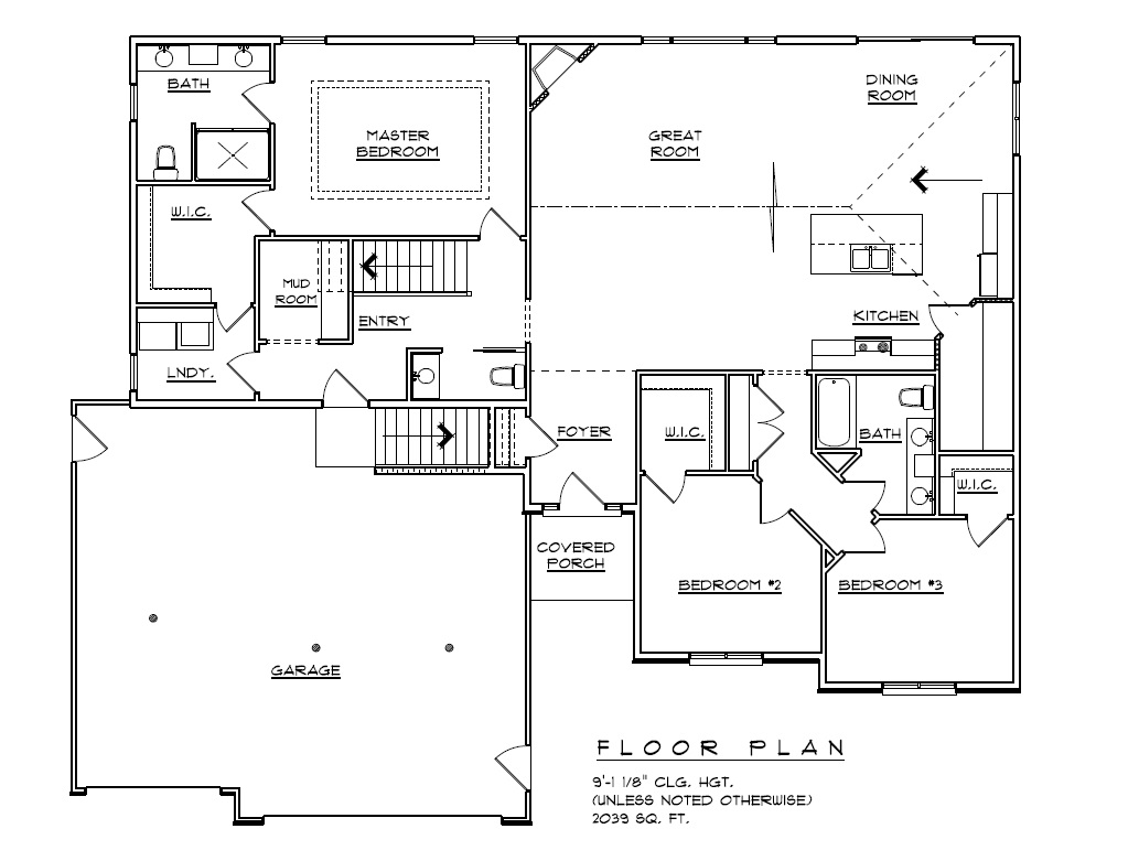 2039 SF Split Bedroom Ranch Home | Ranch Home Plans With Split Bedrooms on small house plans with split bedrooms, 3 bedroom plans with split bedrooms, ranch home 4 bedrooms house plans,